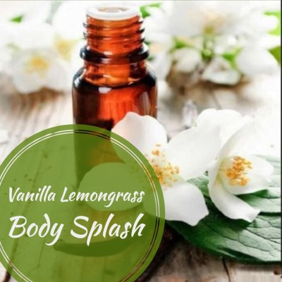 Vanilla Lemongrass Body Splash