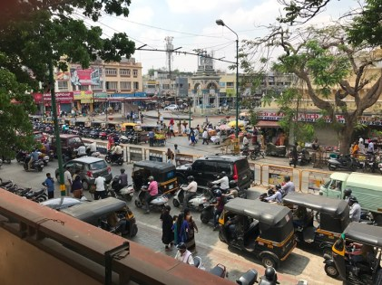 India traffic streets