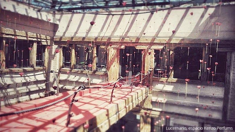 Lucernario espacio Kenzo perfums Casa Decor Madrid 2015