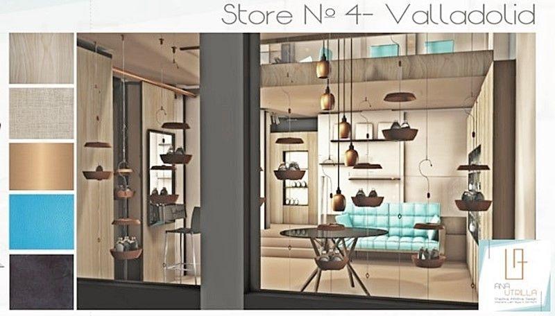 Showcase de perfumería en 3D por Ana Utrilla Diseño de Interiores