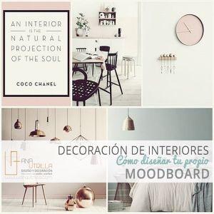 Cómo hacer un moodboard por Ana Utrilla Diseño de Interiores