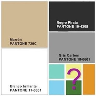 Paleta de colores neutros a combinar cuando decoras con neutros por Ana Utrilla