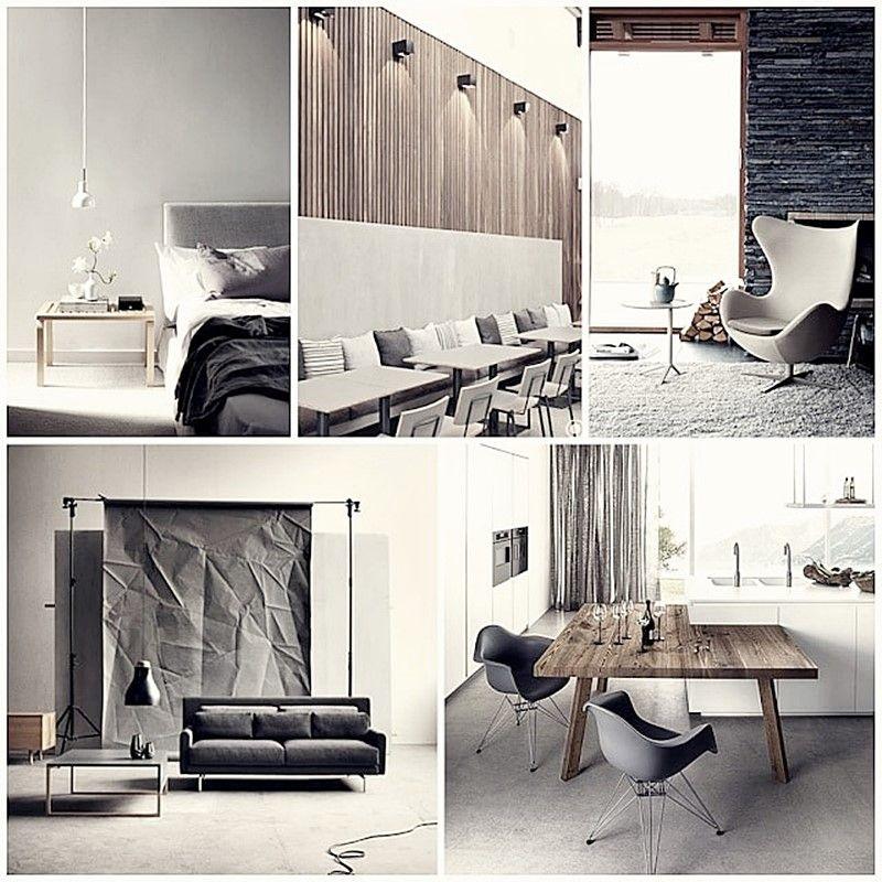 Ambientes cálidos, acogedores y confortables decorados con materiales y colores naturales y neutros por Ana Utrilla diseño de interiores