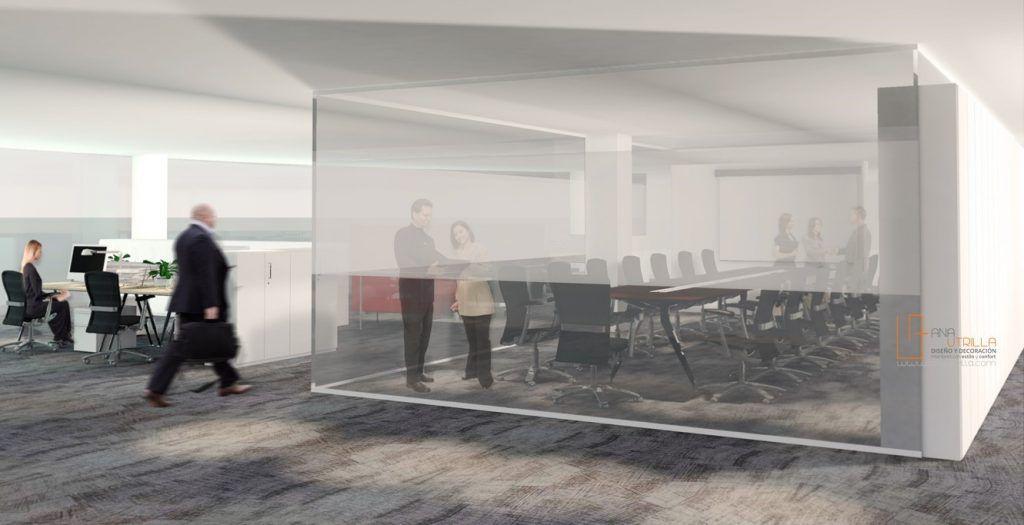 Infograf as 3d o renderizado de oficinas dise o de for Programa de diseno de oficinas