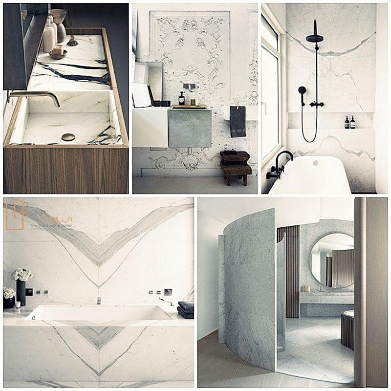 Espacios de estilo ecléctico elegante francés de aseo y baño por Ana Utrilla