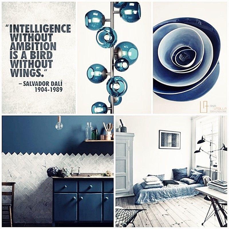 Azul petróleo para el interior de tu vivienda por Ana Utrilla