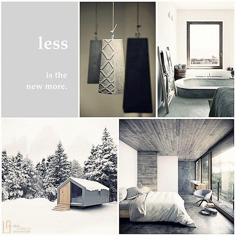 Espacios abiertos a al naturaleza, de estilo nórdico minimalista de colores neutros