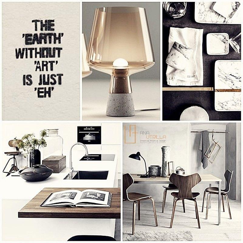 Decoración de interiores ambientes elegantes en bicromía blanco y negro