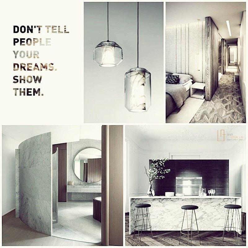Moodboard proyecto interiorismo de estilo ecléctico elegante por Ana Utrilla