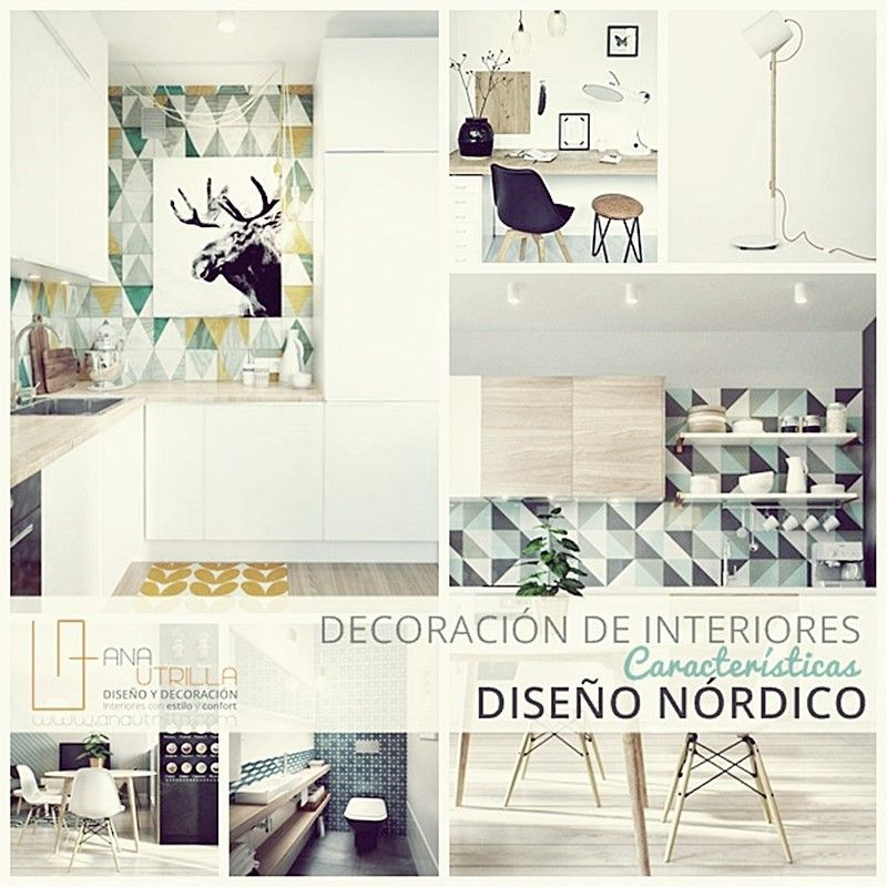 Estilo nórdico en decoración de interiores por Ana Utrilla