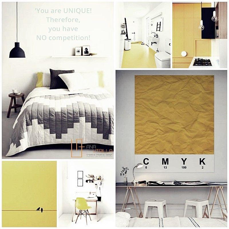 Decora tu espacio con estilo nórdico, ambientes en tonos neutros y amarillo