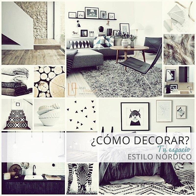 cómo decorar con estilo nórdico tu casa o espacio de trabajo por Ana Utrilla
