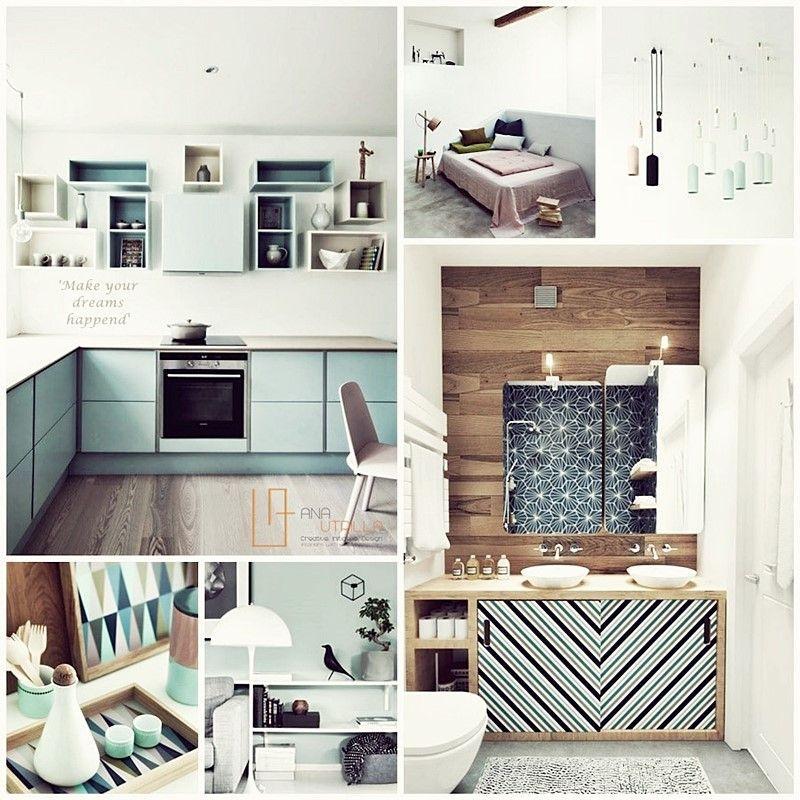 Decoración de interiores de estilo nórdico escandinavo por Ana Utrilla