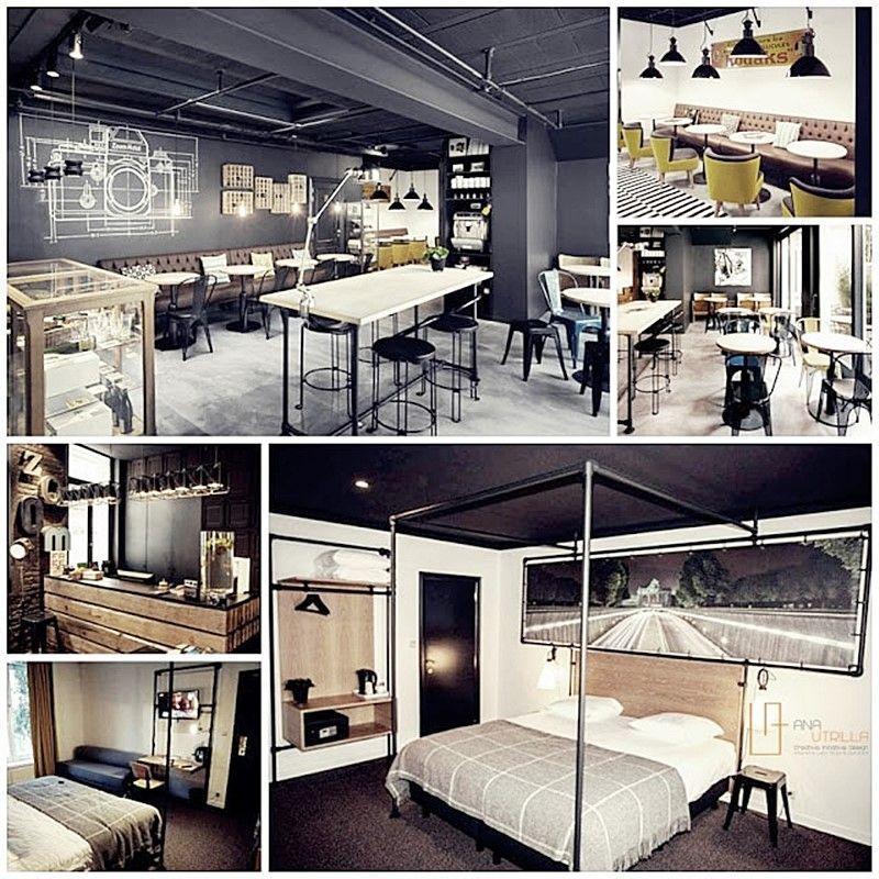 HOTEL ZOOM EN BRUSELAS DISEÑO DE INTERIORES HOTELES