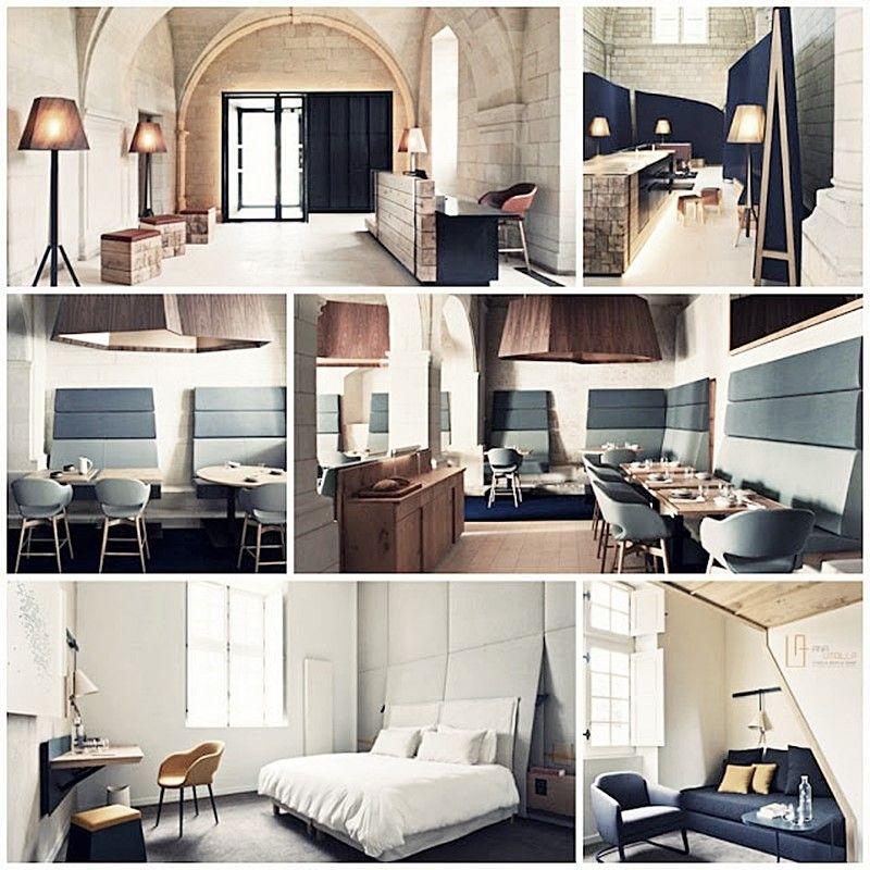 HOTEL ABADÍA FONTEVRAUD, FRANCIA