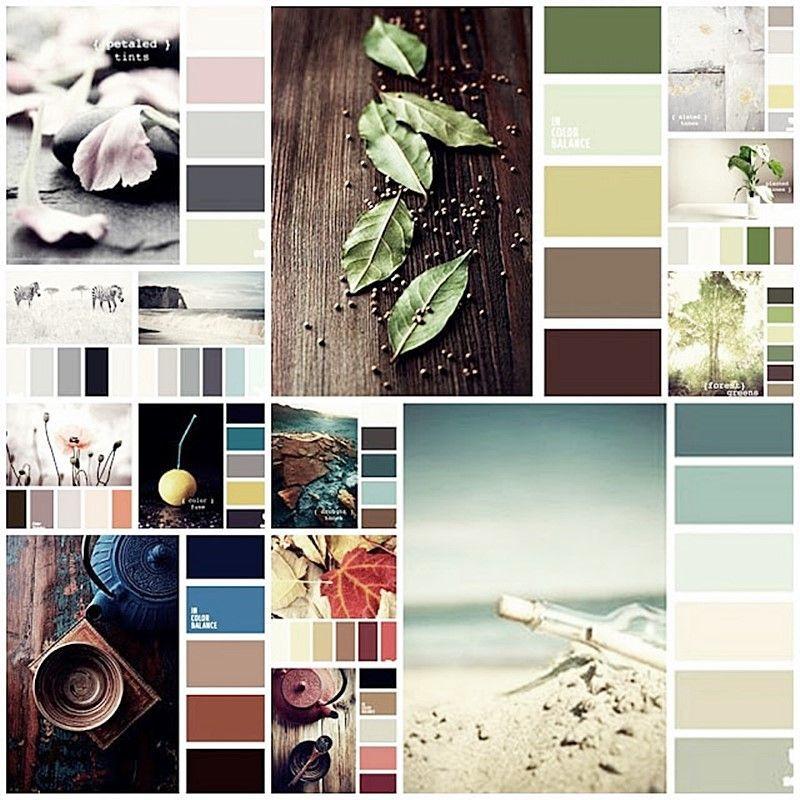 Combinación de colores más utilizados para decorar interiores por Ana Utrilla