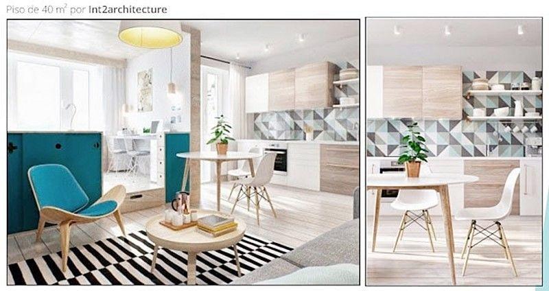 Diseño de interiores de estilo nórdico