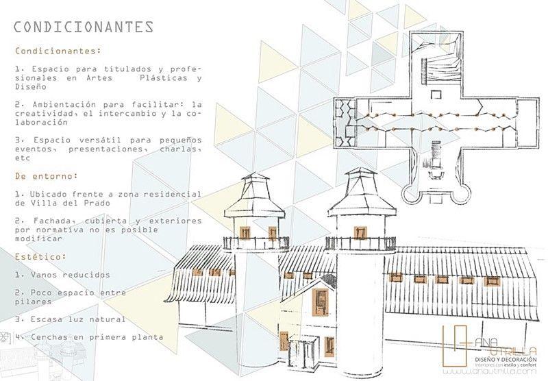 Proyecto de interiorismo oficinas coworking en Valladolid por Ana Utrilla