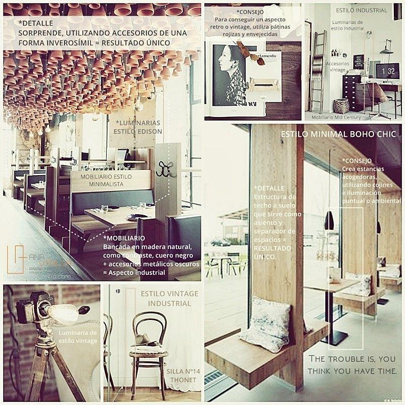 Ambientes con carácter de estilo industrial y nórdico por Ana Utrilla
