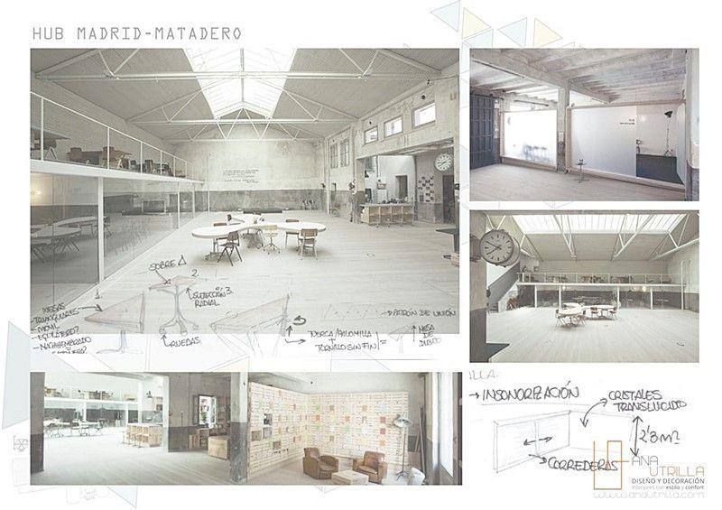 Referencias proyecto de interiorismo oficinas coworking Valladolid por Ana Utrilla