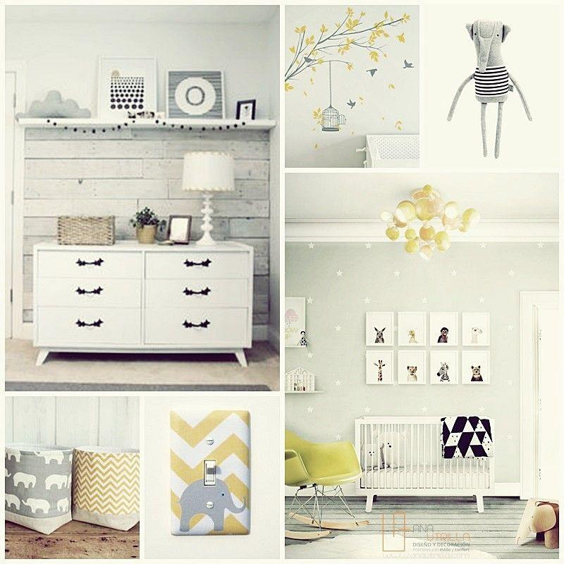 Espacios infantiles, decoración de interiores para bebes