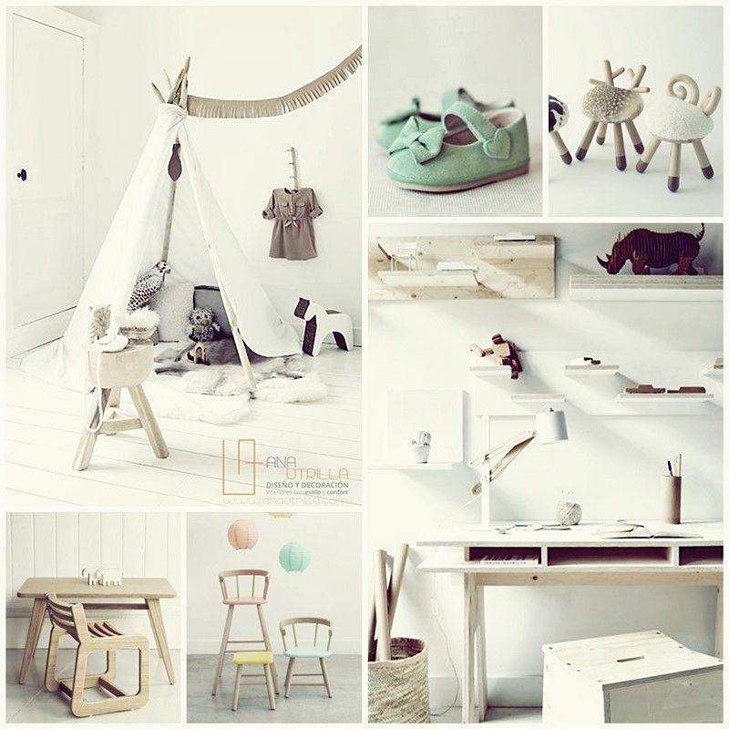 Como decorar una habitación para bebé por Ana Utrilla
