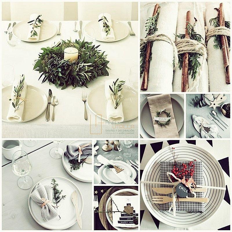 Decoración DIY para navidad por Ana Utrilla Diseño de Interiores online