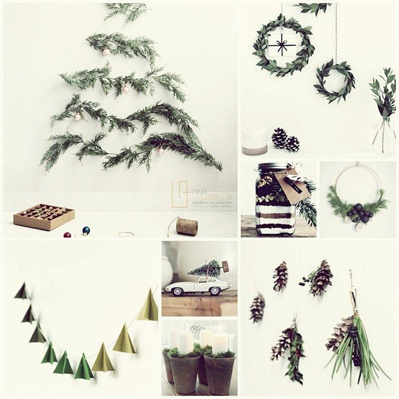 Ideas e inspiración para que decores con tu casa con accesorios DIY esta navidad por Ana Utrilla