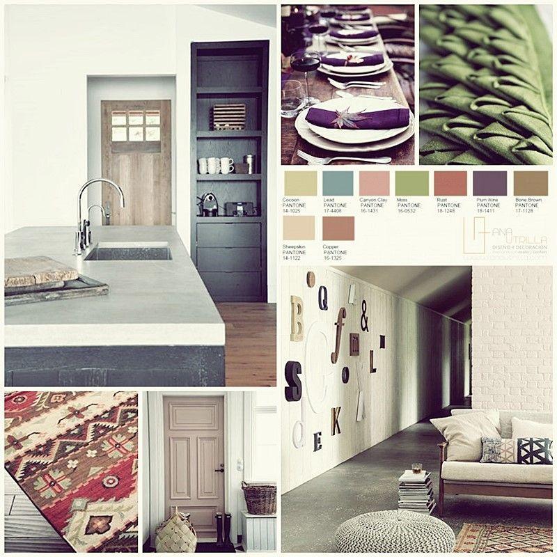 Colores pantone 2016 en decoración de interiores, por Ana Utrilla Diseño de Inteiores