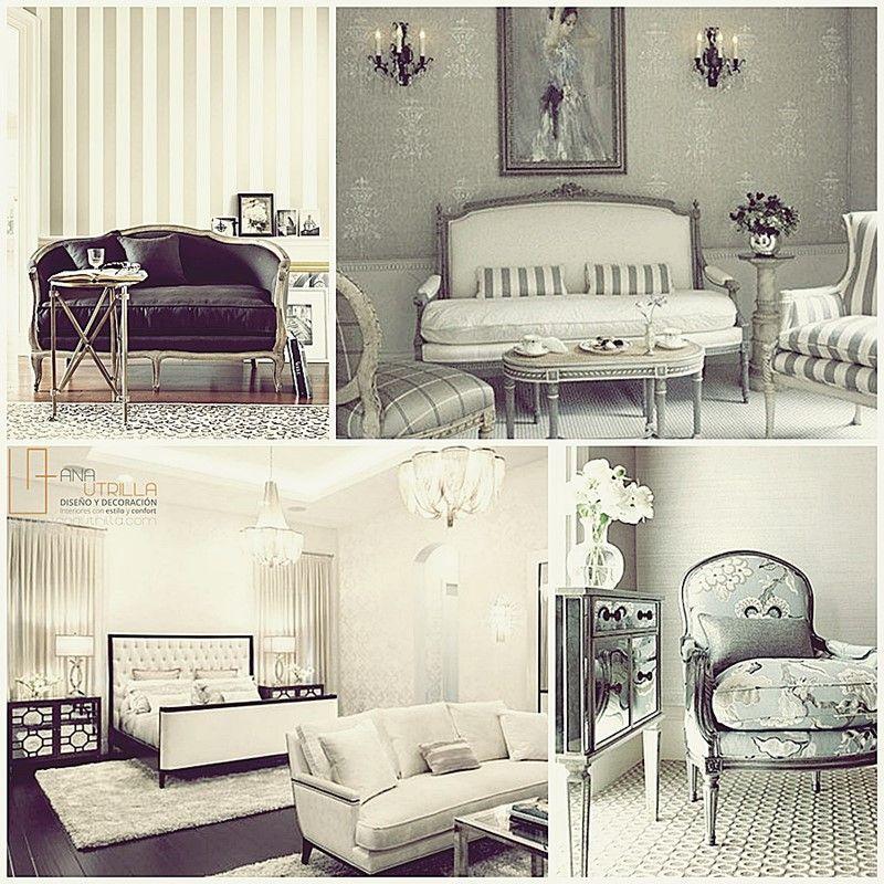 Estilo cl sico en decoraci n de interiores dise o de for Decoracion de interiores clasico elegante
