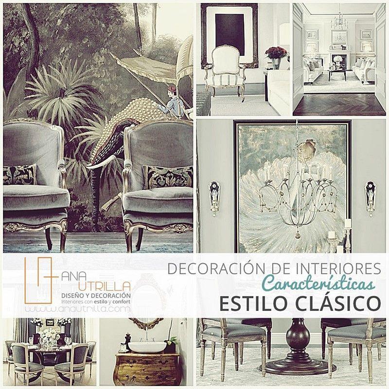 Cómo son las características del estilo clásico en decoración de interiores