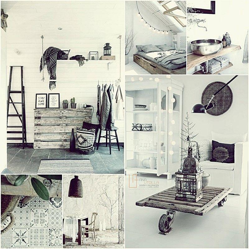 Espacios de decoración nórdica y escandinava, por Ana Utrilla interiorismo online