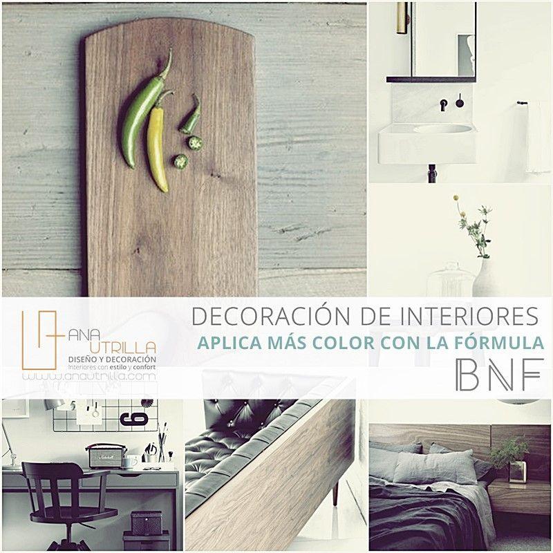Crea ambientes más llamativos aplicando color en tu decoración por Ana Utrilla Diseño de Interiores Online