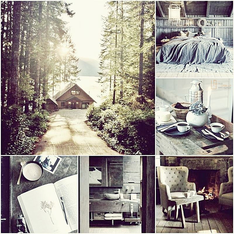 Ideas para decorar con estilo rústico tu casa o espacio en el campo por Ana Utrilla