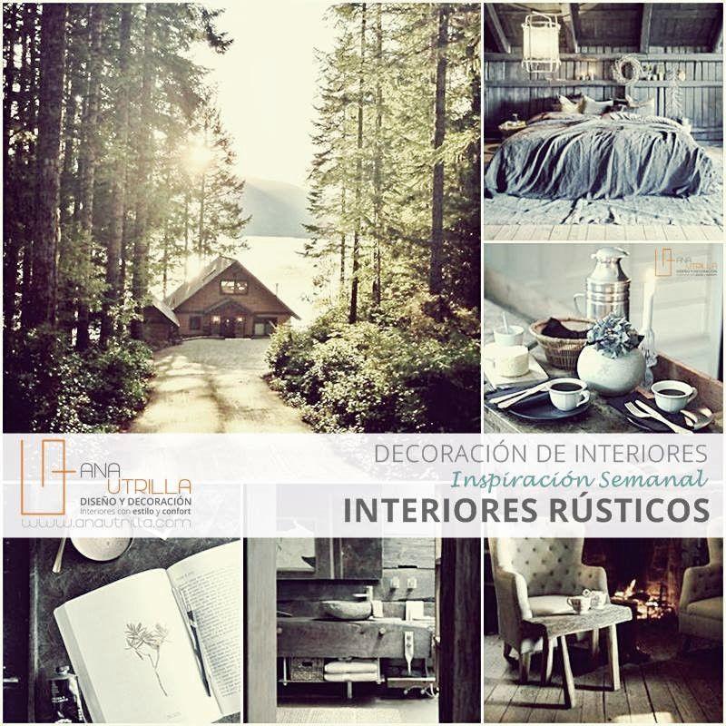 Inspiración e ideas para decorar con estilo rústico