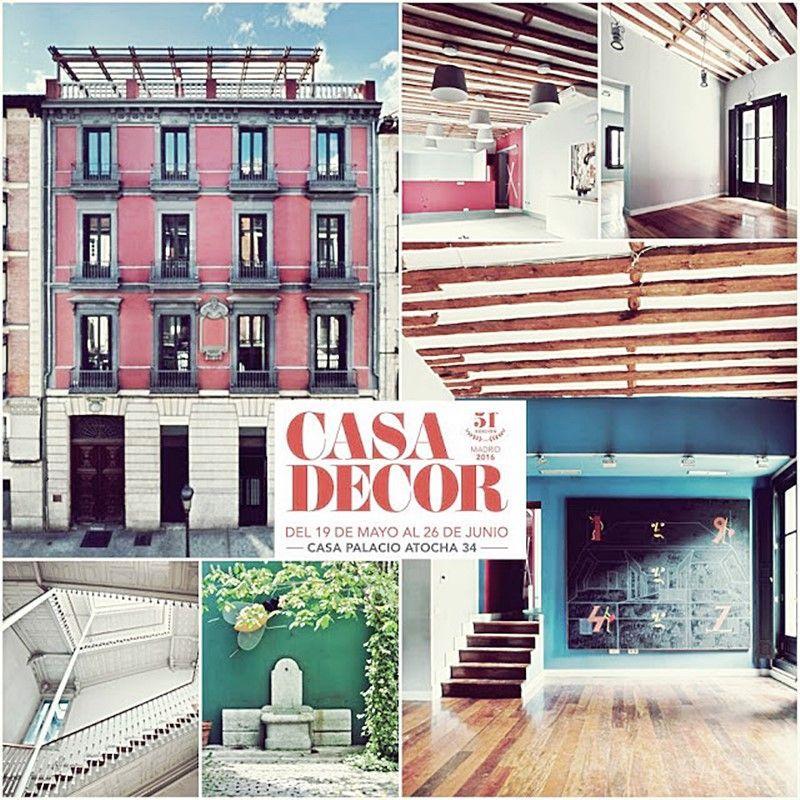 Fachada CasaDecor en Madrid Atocha, 2016 por ANa Utrilla Interiorismo