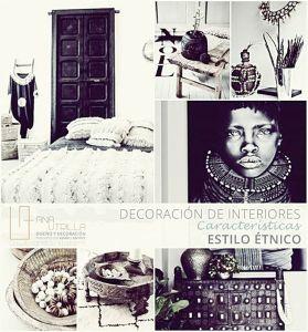 decoración de inteirores de estilo étnico por Ana Utrilla