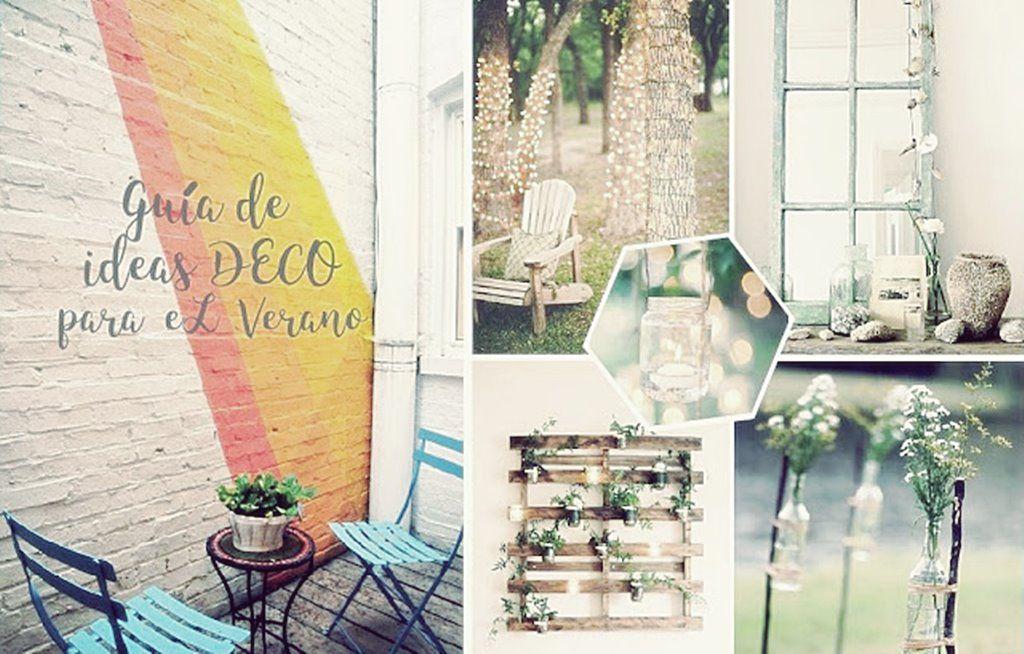 Ideas para decorar tu casa en verano 2016