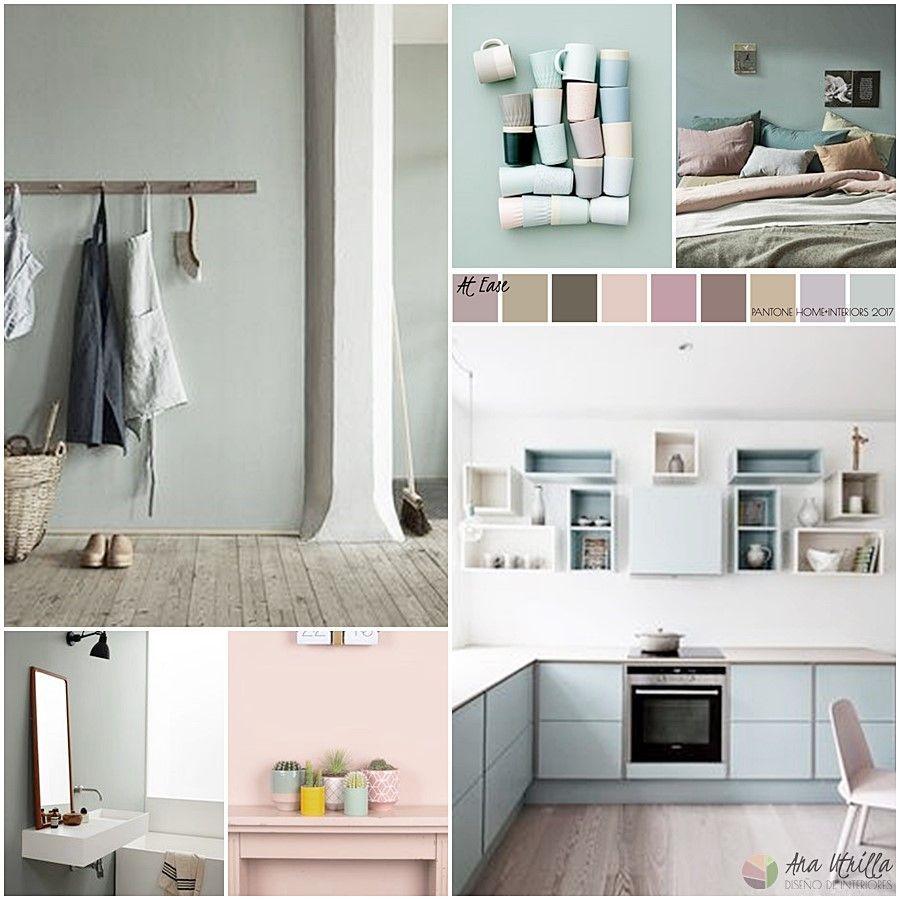 Guía De Colores Pantone 2017 En Decoración De Interiores Paleta At Ease