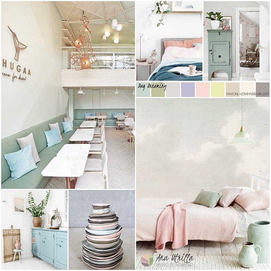Colores pantone 2017 home interior por Ana Utrilla Diseño de interiores