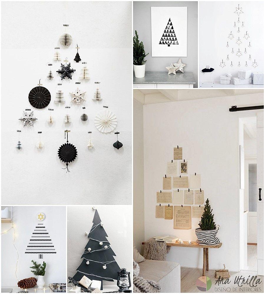 Alternativas DIY para el árbol de navidad