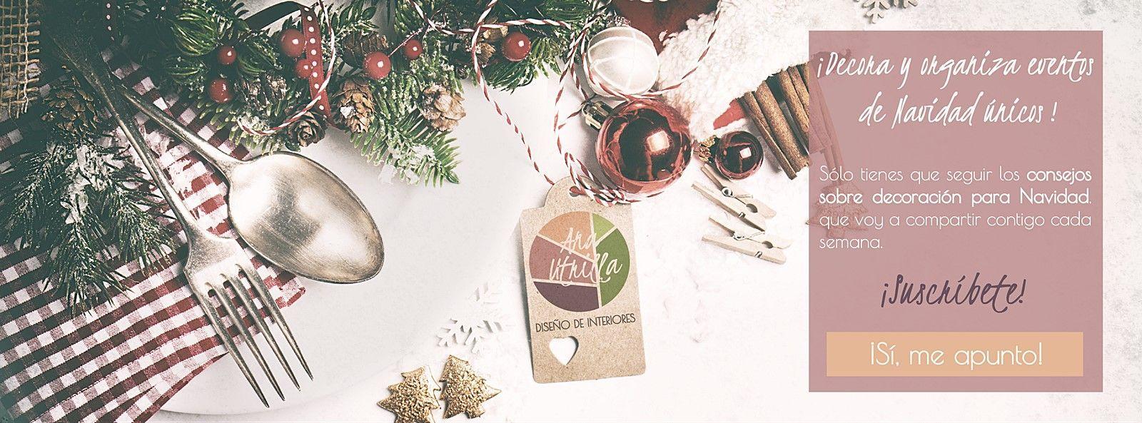 ¡Suscríbete! Y recibe consejos cada semana para una decoración genuina de navidad