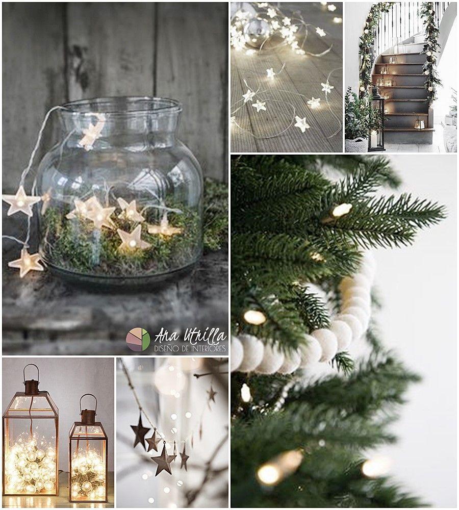 Luces de navidad para ambientar los espacios navideños