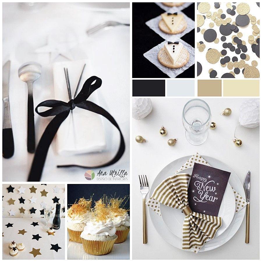 Decoración para tu mesa de Nochevieja ideas e inspiración