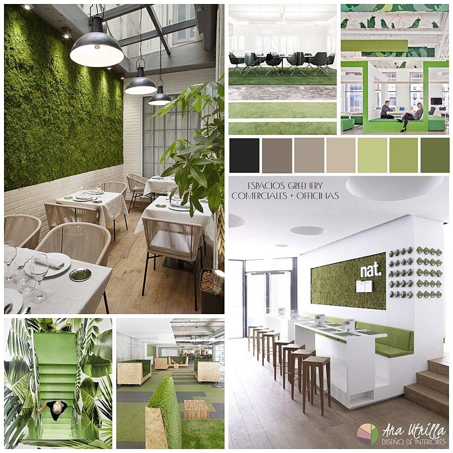 Espacios comerciales greenery, locales, restaurantes, officinas