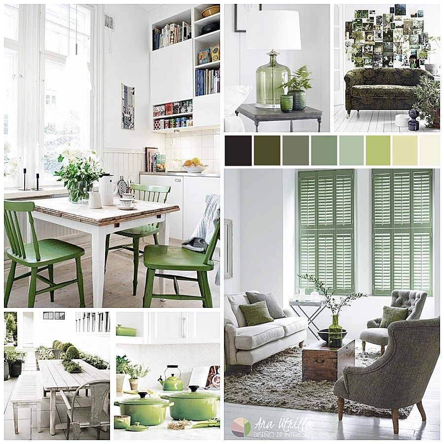 GREENERY EN TU DECORACIÓN, COLOR PANTONE 2017 interiorismo