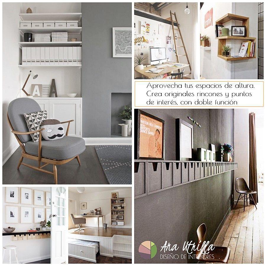 Como aprovechar maximizando tu espacios y sus alternativas