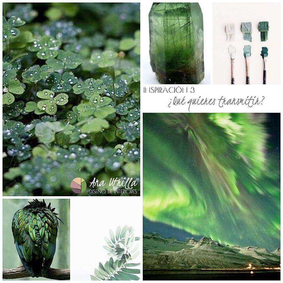 Cómo combinar el color verde en tu decoración por Ana Utrilla Interiorismo