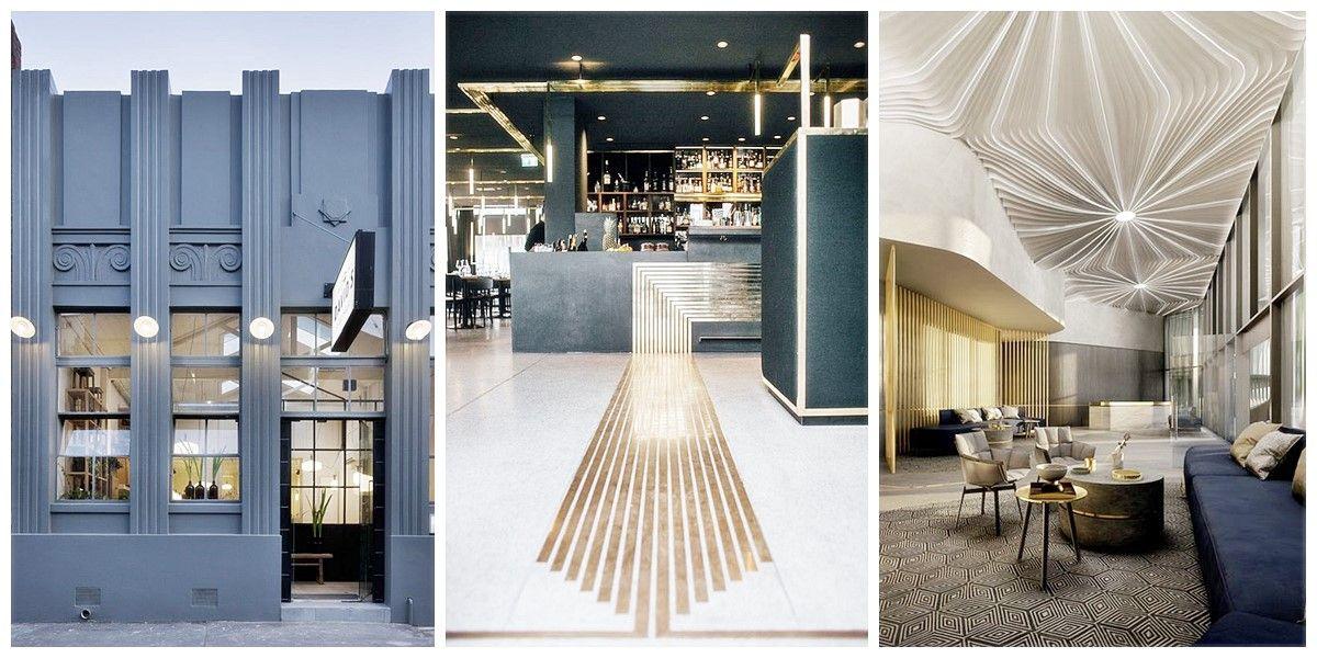 Estilo Art Decó en espacios de hostelería interiorismo comercial