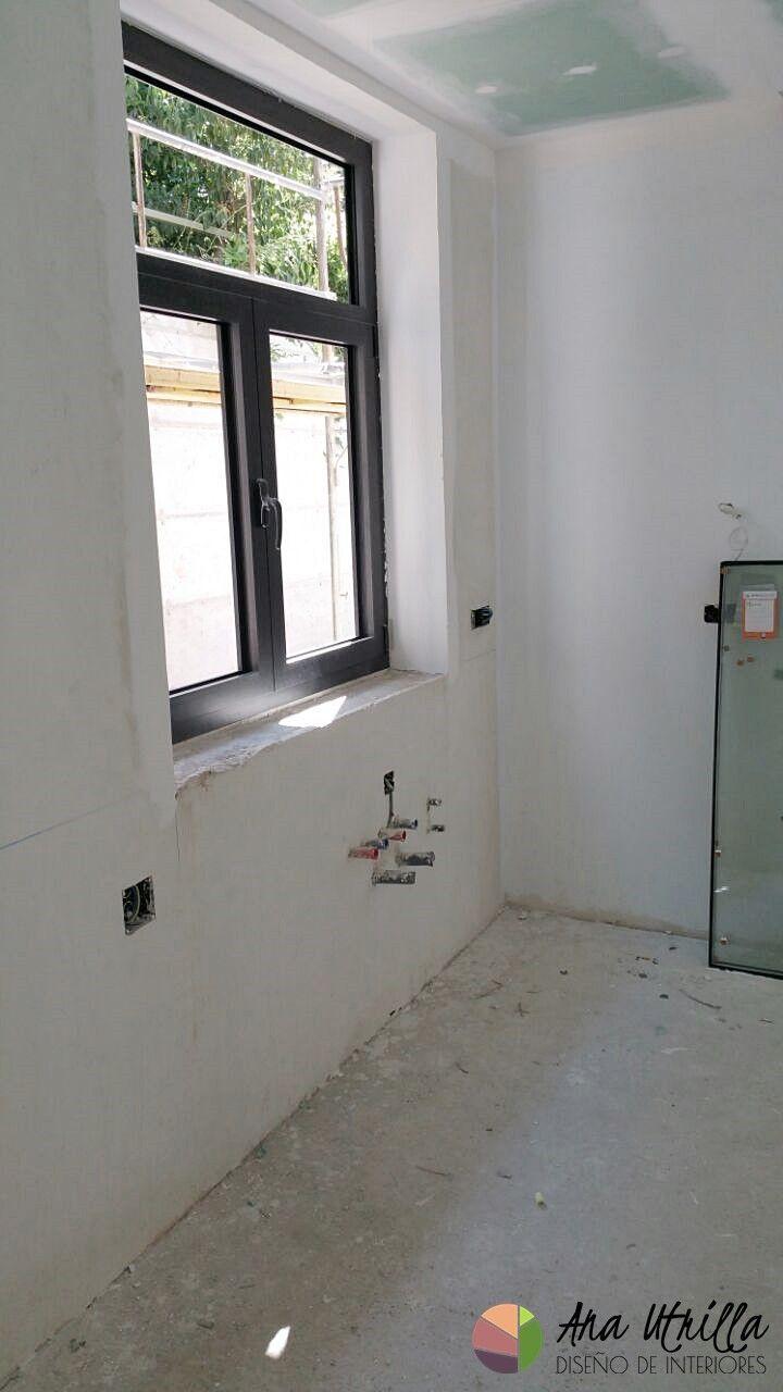 Obra nueva de vivienda en Madrid, interiorismo por Ana Utrilla